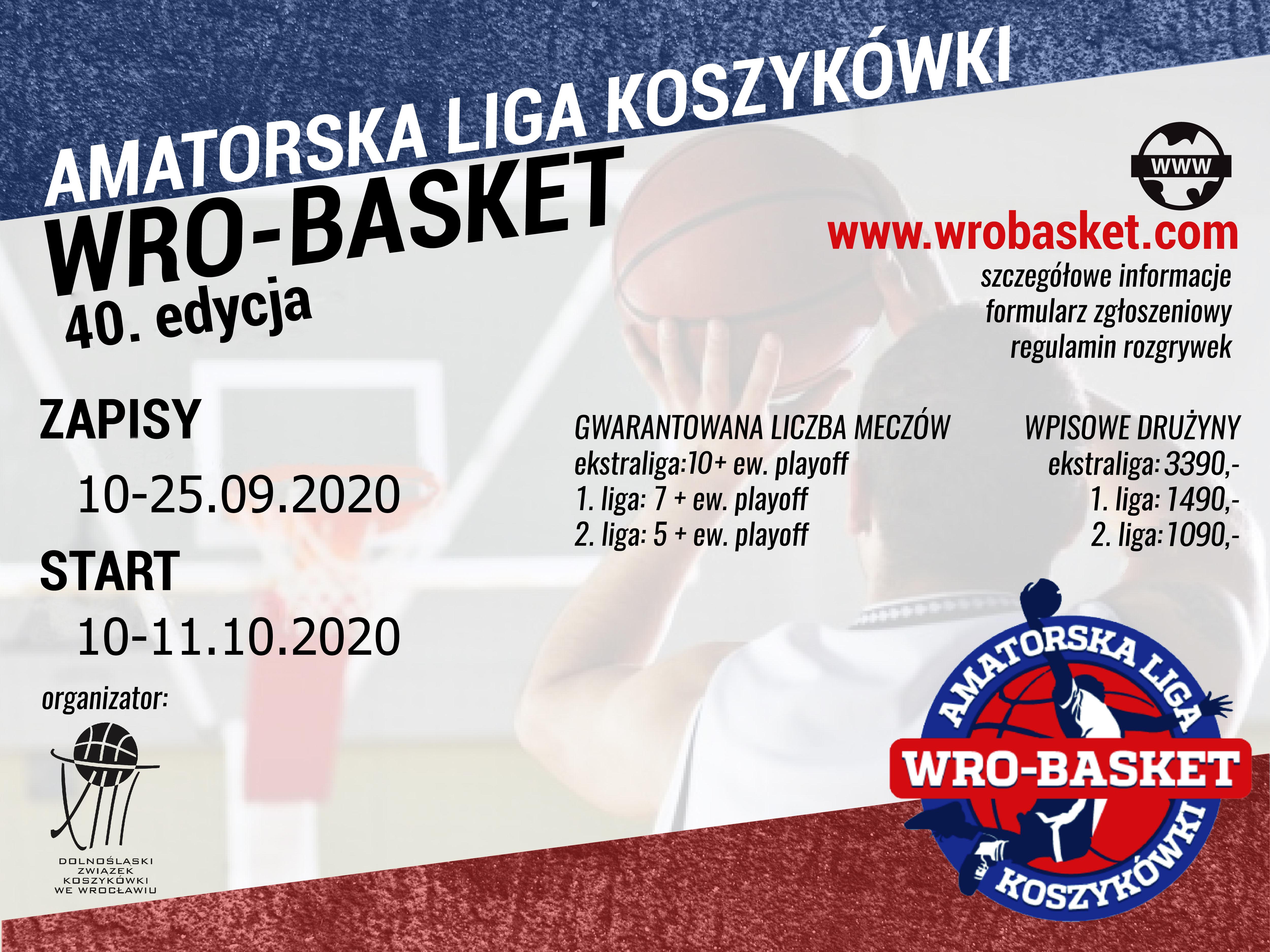 Ruszyły zapisy do 40. edycji ALK WroBasket!